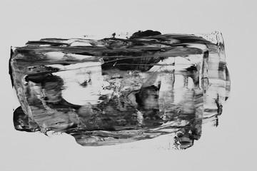 Abstract isolated acrylic