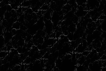 Wall Mural - elegant black marble texture for pattern and background