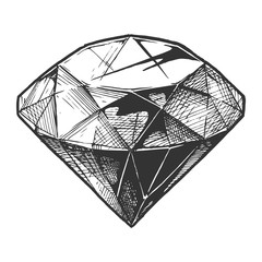 illustration of diamond
