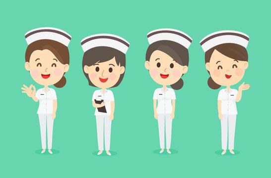 Set Nurse Character Vector