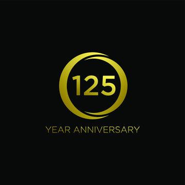 gold 125 logo icon design