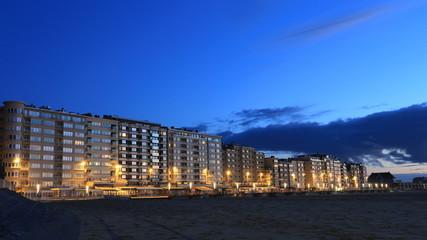 Ostende am Abend