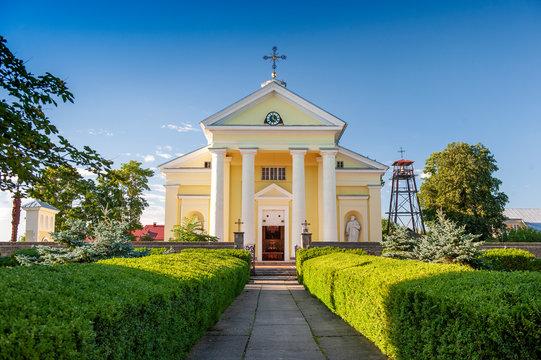St. John The Baptist Church in Mielagenai, Ignalina, Lithuania. The Curch was built in 1790.