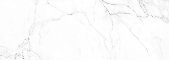 Poster Stenen high resolution white Carrara marble stone texture