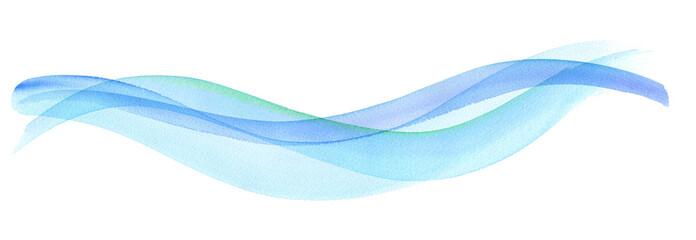 透明な水、爽やかな風の抽象イメージ Fototapete