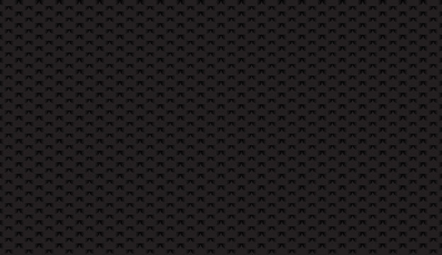Brushed metal aluminum black, dark flake texture seamless virtual background for Zoom. Abstract design vector illustration