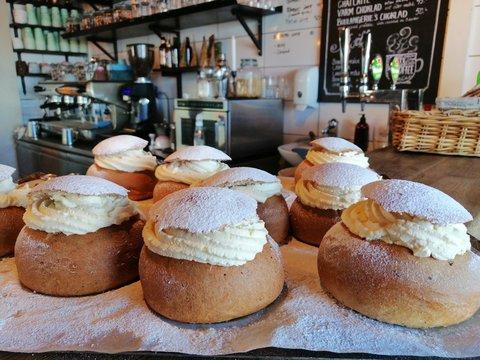 Assortment of swedish pastries.