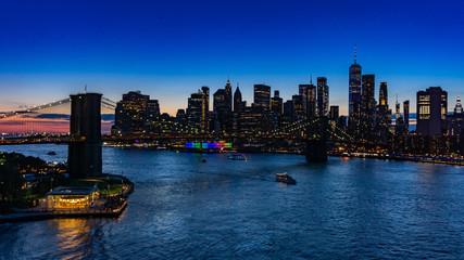 Fototapeta new york skyline