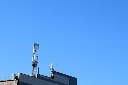 Digital wireless connection system. Antenna.