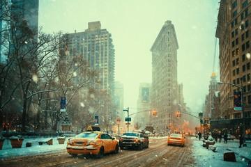 New York City winter Fotomurales