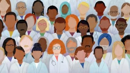 Diversity in Medicine, Doctor Nurse Student