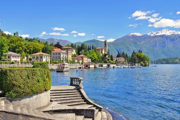 Tremezzo am Comer See in Italien - Tremezzo, Lake Como in Italy