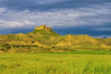 Castillo de Montearagon in Aragonien, Spanien - Castillo de Montearagon near Huesca in Spain