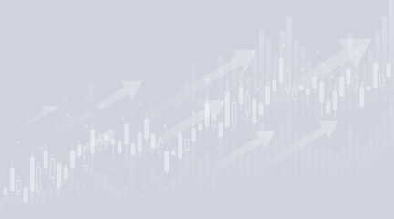 Wall Mural - Graphs and charts templates. With up trend. Big set business infographics. Statistic and data, information, economy. Financial chart. Vector illustration.