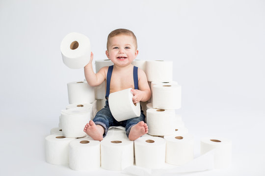 Toilet Paper Kid