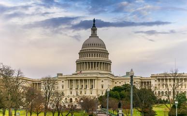 The Capitol in Washington DC, USA Fototapete
