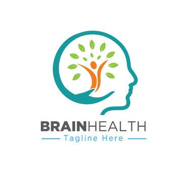 nature mind care health logo designs