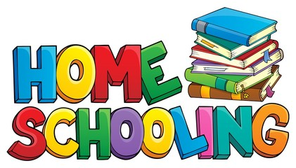 Home schooling theme sign 1