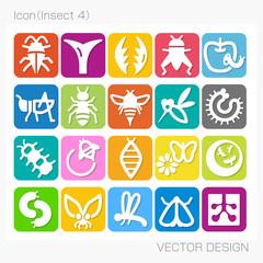 アイコン・昆虫(Insect 4)Vector Design
