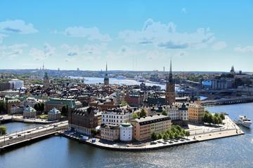 Keuken foto achterwand Stockholm Aerial view of Stockholm , Sweden