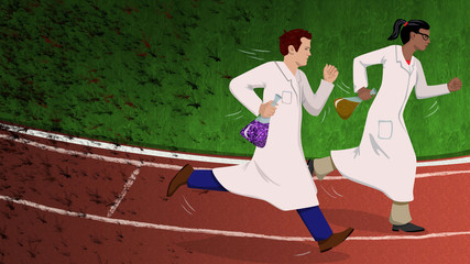 Scientists running a sprint to discover a cure for malaria cure