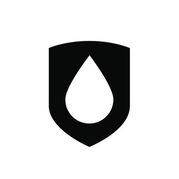 Water protection shield drop