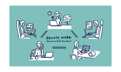 Remote work_We are working from home!