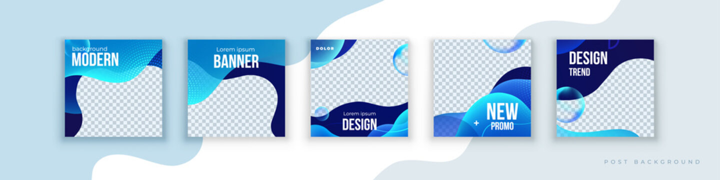 Liquid abstract banner design. Fluid Vector shaped background. Modern Graphic Template Banner pattern for social media stories and insta post