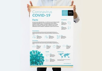 Infographic COVID-19 Poster