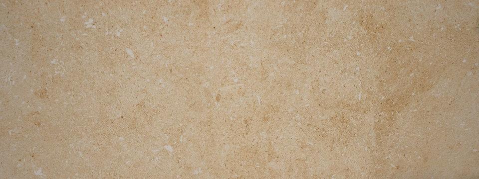 Brown beige granite natural stone texture background banner panorama