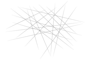 Wall Mural - Abstract white background with black lines