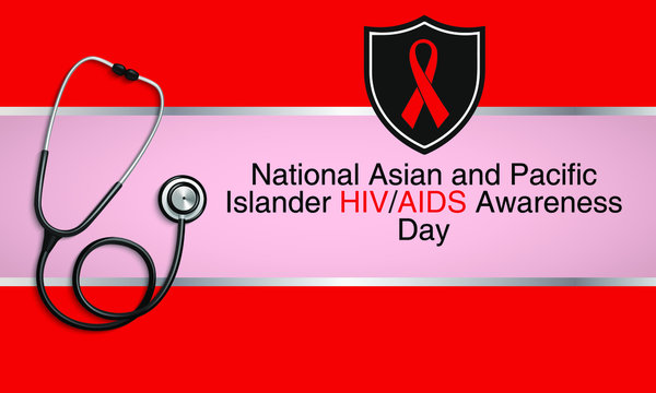 Vector illustration on the theme of National Asian and Pacific islander HIV and AIDS awareness day observed each year on May 19th.