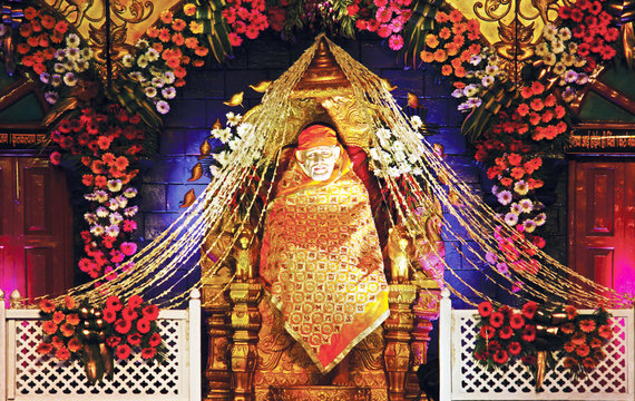 Shirdi Sai Baba, Lord Sai Ram Temple - HD Wallpaper