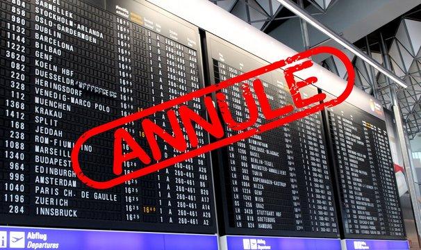 Annulation de vol