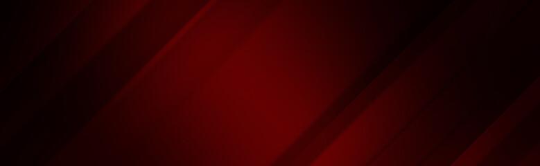 Red dark background with dark edges for wide banner Fototapete