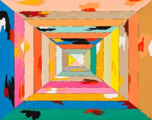 Kolorowy kwadrat
