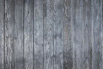 Distressed gray wood flooring