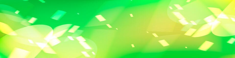 光を感じる緑の抽象背景デザイン、アブストラクトバックグラウンド Wall mural