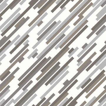 Winter camouflage. Urban style. Seamless stripes vector pattern.