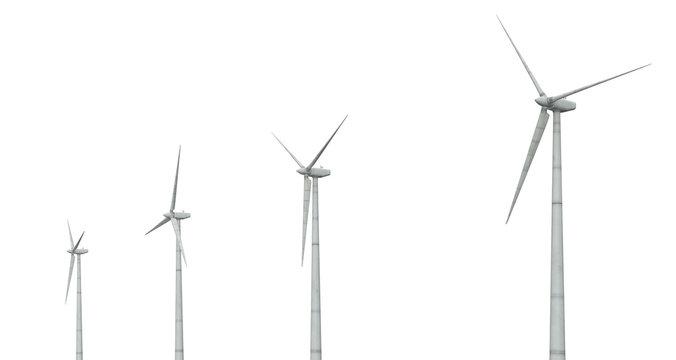 Windkraftanlagen, Freisteller