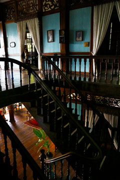 inside of colonial building-Philippines