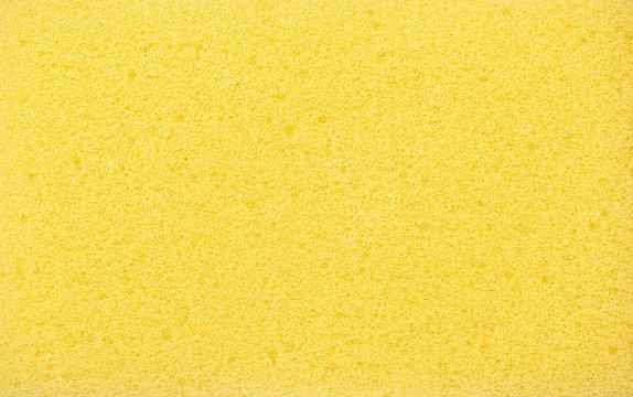 Yellow sponge texture background