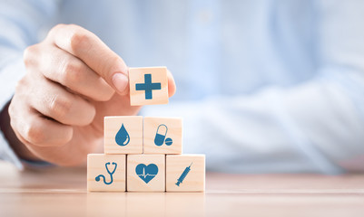 Health insurance - concept.