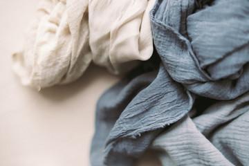 Styled fabric Fotobehang