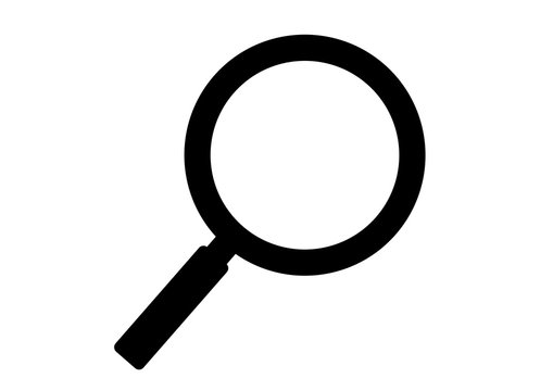 search and magnifying glass icon