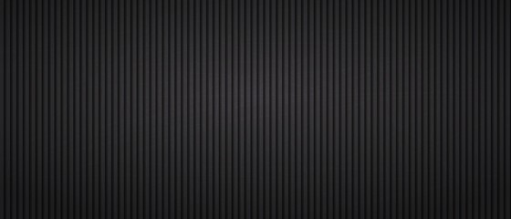 Vertical dark parallel stripes seamless pattern. Wall mural