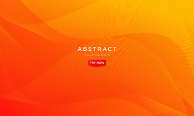 Poster Abstract wave minimal wave gradient background gradient, abstract creative scratch digital background, modern landing page concept vector.