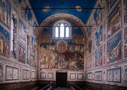 Scrovegni Chapel Cappella degli Scrovegni in Padua, Italy