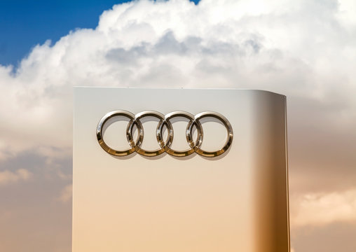 Furth, Germany : Audi's auto dealerships, Audi is a German automobile manufacturer that designs, engineers, produces, markets and distributes luxury automobiles
