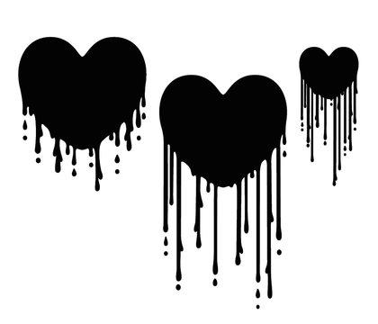 Heart Dripping Sorrow And Loss